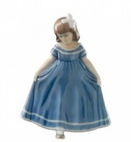 Royal Copenhagen figurine Ballerina mini blue 5021084