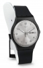 SWATCH Man Watch Woman SUOB717 day date SILVER FRIEND 41mm